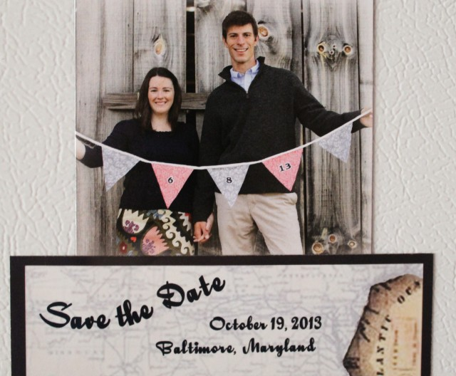 yay for save the date magnets!