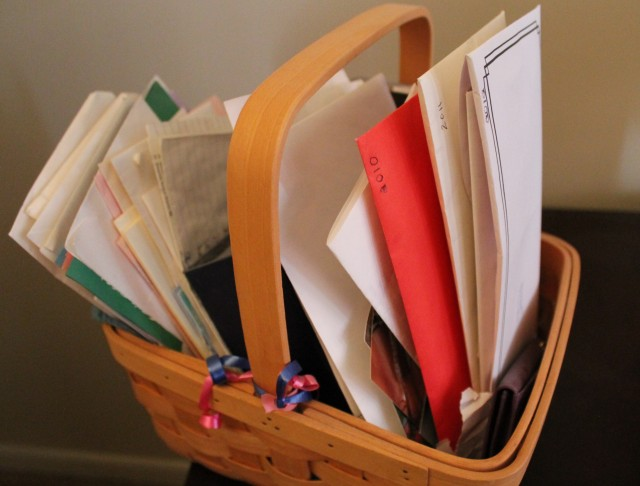 basket of letters