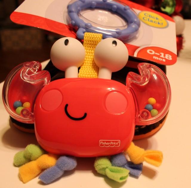 crab toy
