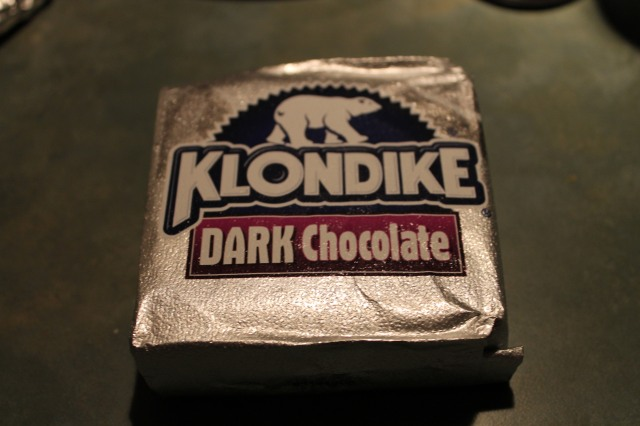 klondike dark chocolate
