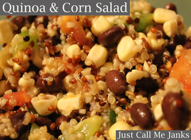 quinoa-corn salad
