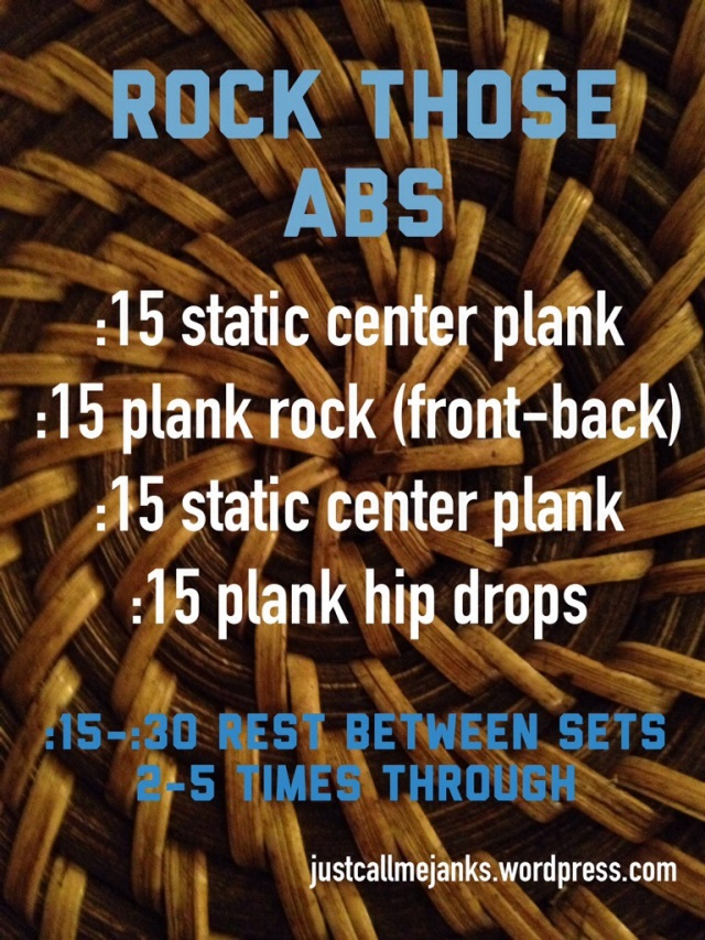 Rock Those Abs