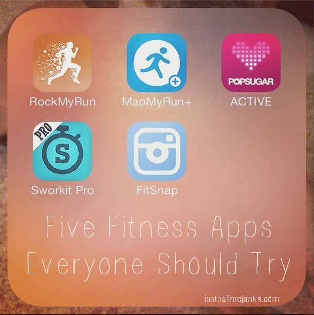 five fitness apps to try