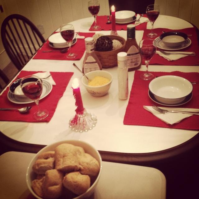 Sunday night dinner