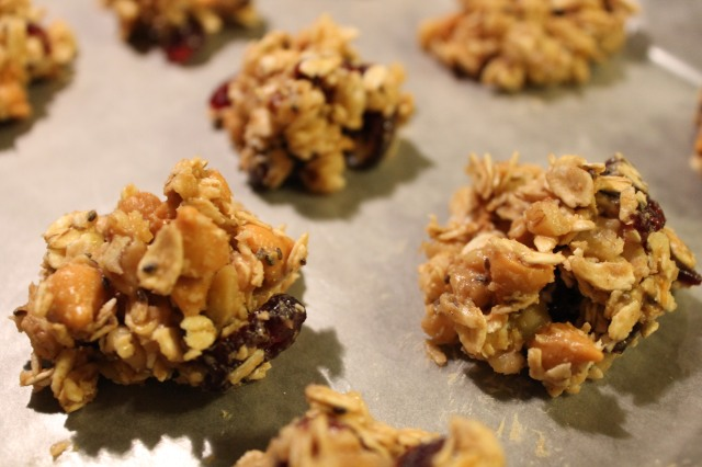 no bake protein clusters 1