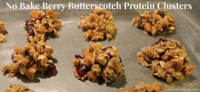 no bake protein clusters title