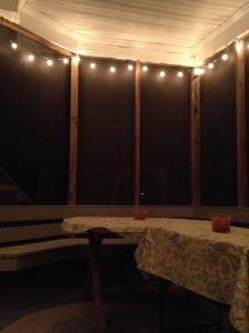 back porch w lights
