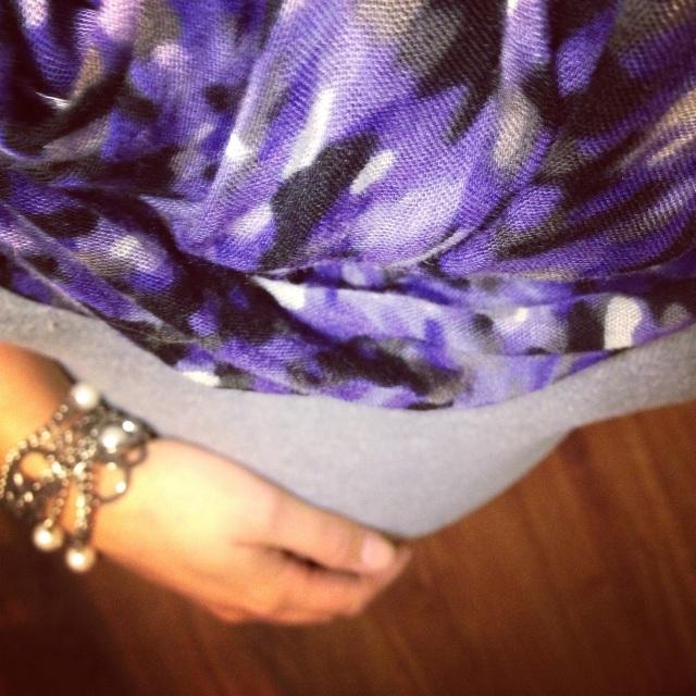baby bump purple